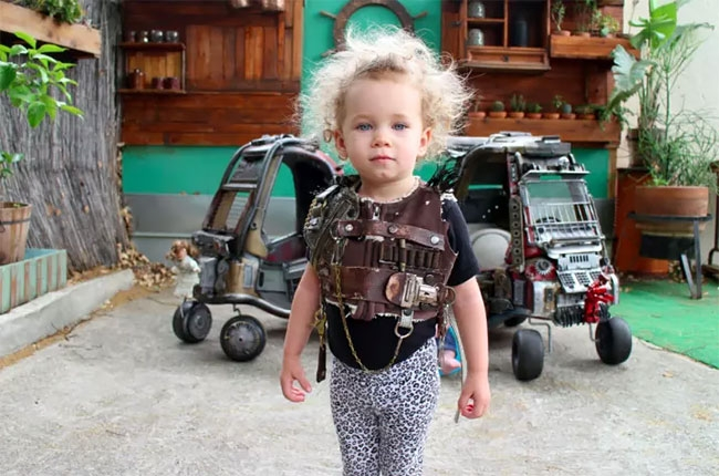 14-Ian-Pfaff-Little-Tikes-Cozy-Coupe-Infused-with-Mad-Max-www-designstack-co