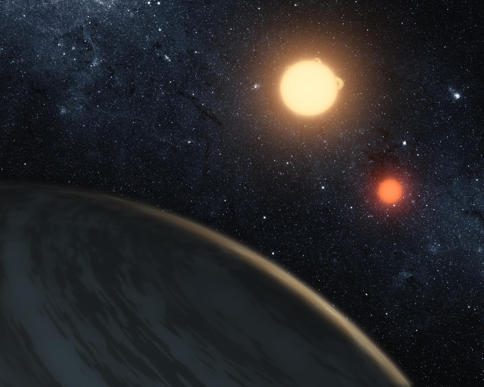 Planets Discovered Orbiting Star From Another Galaxy ...