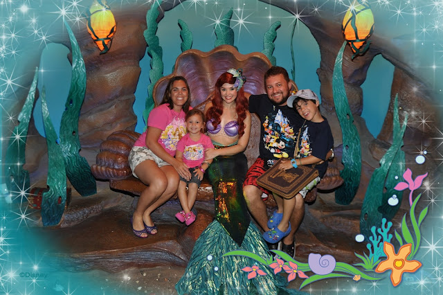 Onde encontrar as Princesas na Disney - Ariel