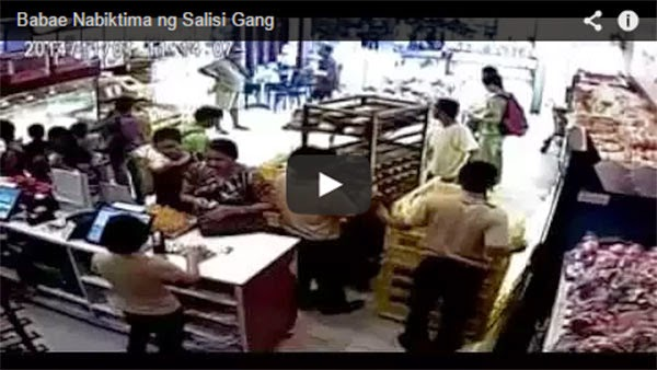 Salisi Gang Victimizes Woman In Mall Bakeshop