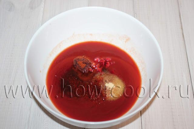 рецепт соуса барбекю с пошаговыми фото