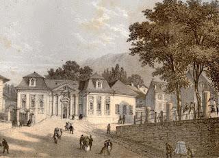 Экс-ле-Бен. Королевские термы, 1855