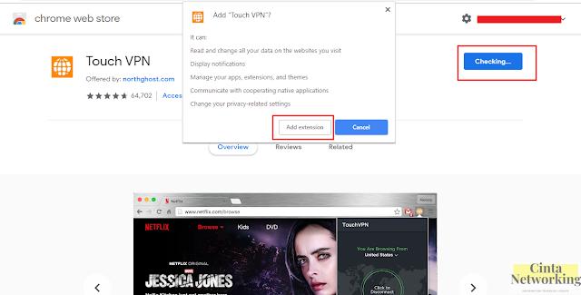 Cara Mudah Pasang Dan Menggunakan VPN Pada Browser Chrome Di Laptop Atau Komputer - Cintanetwoking