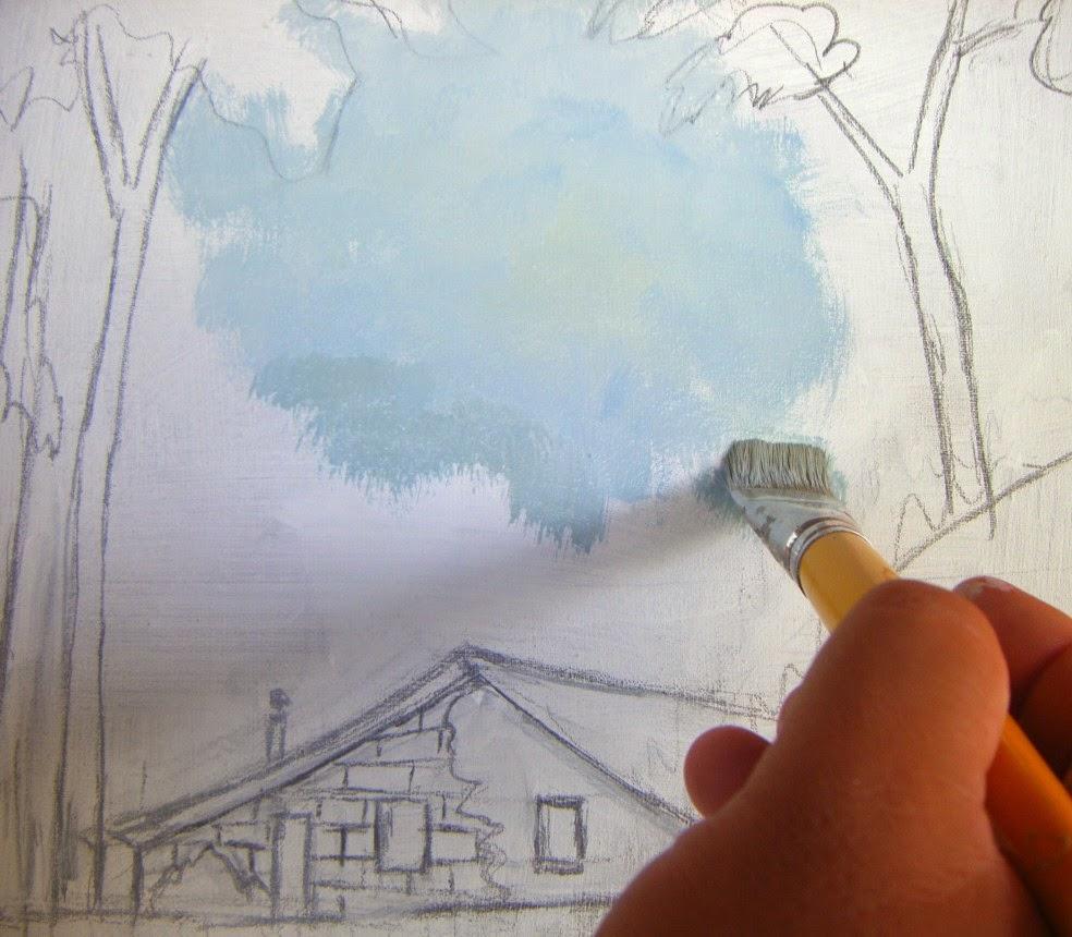 Pintando em tela dicas importantes sobre perspectiva - Como pintar sobre tela ...