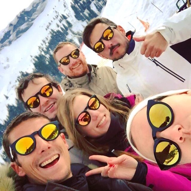 Skiing Mgève