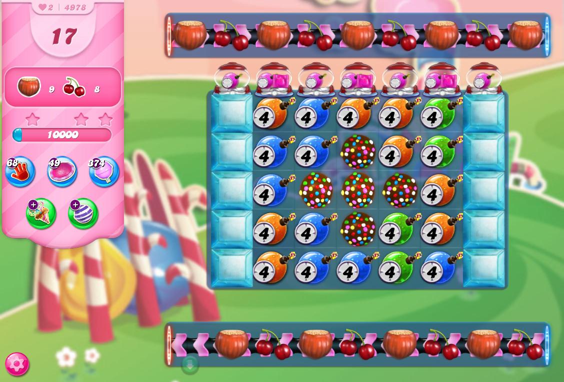 Candy Crush Saga level 4978