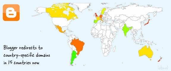 Запрет Blogger от перенаправления вашего блога Blogspot на URL-адреса конкретных стран