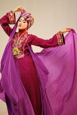 gamis muslimah model tionghoa