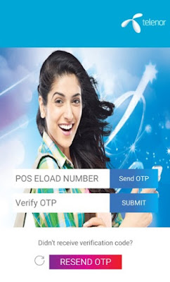 Telenor EKYC App Verify OTP