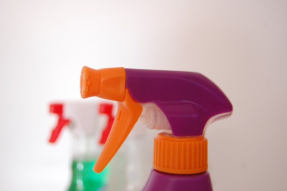 Cleaning Spray Bottles for Homemade All-Purpose Cleaning Spray Recipe