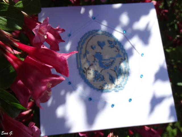 Wielkanocne kartkowanie - pisanka