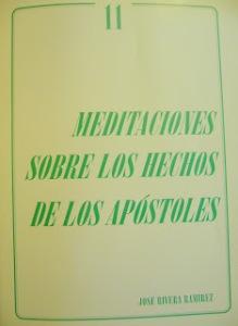 Meditaciones sobre los Hechos de los Apóstoles