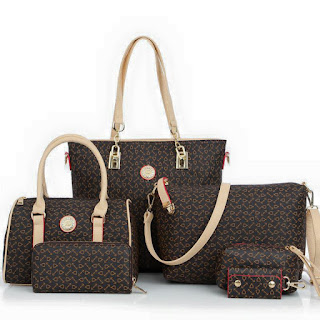 MATERIAL   QUALITY ARTIFICIAL LEATHER HB3525 6 IN 1 MULTI FUNCTION BAG  LENGTH   36CM BOTTOM WIDTH   13CM HEIGHT   29CM HANDLE HEIGHT   23CM LONG  STRAP ... b3062d8dde842