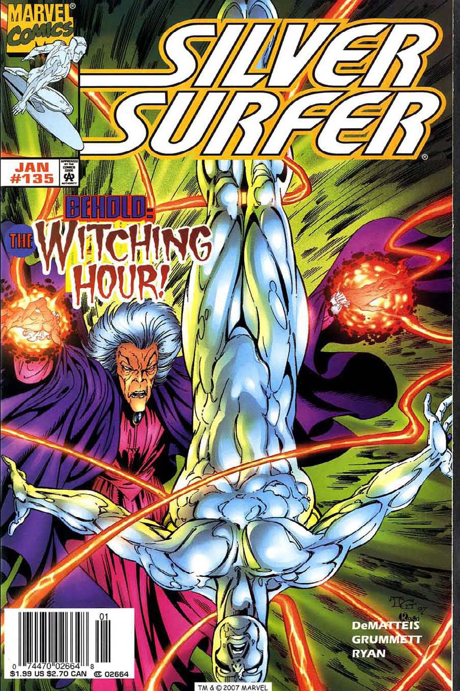 Read online Silver Surfer (1987) comic -  Issue #135 - 1