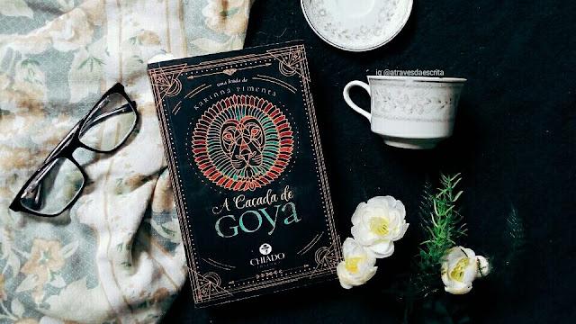 a caçada de goya, karinna pimenta, fantasia, livro de fantasia, literatura nacional