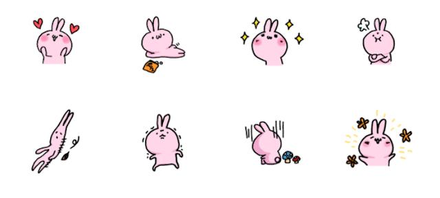 Moody rabbit