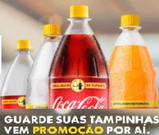 Promoção Coca-Cola 2017 Junte e Troque Tampinhas Por Refrigerante