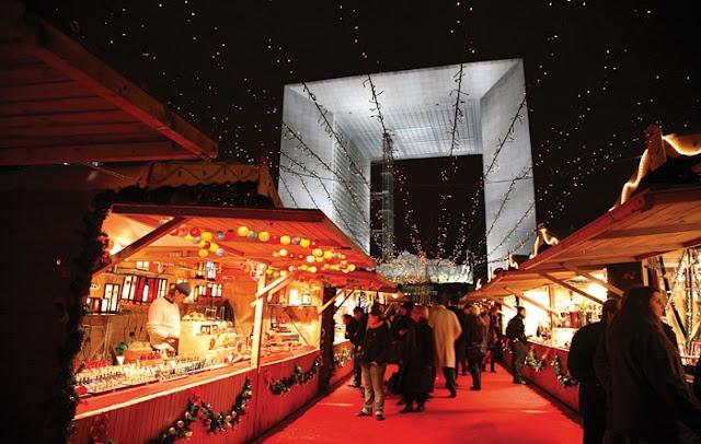 Mercado de Natal - La Défense