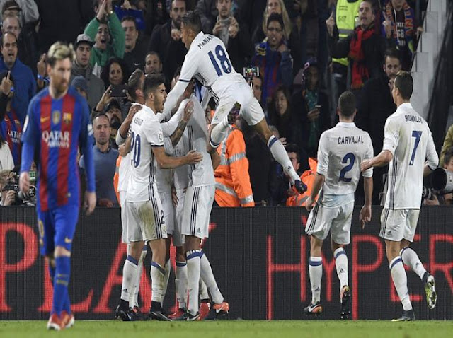 ريال مدريد يخرج بنقطة ثمينة من الكلاسيكو ضد برشلونة