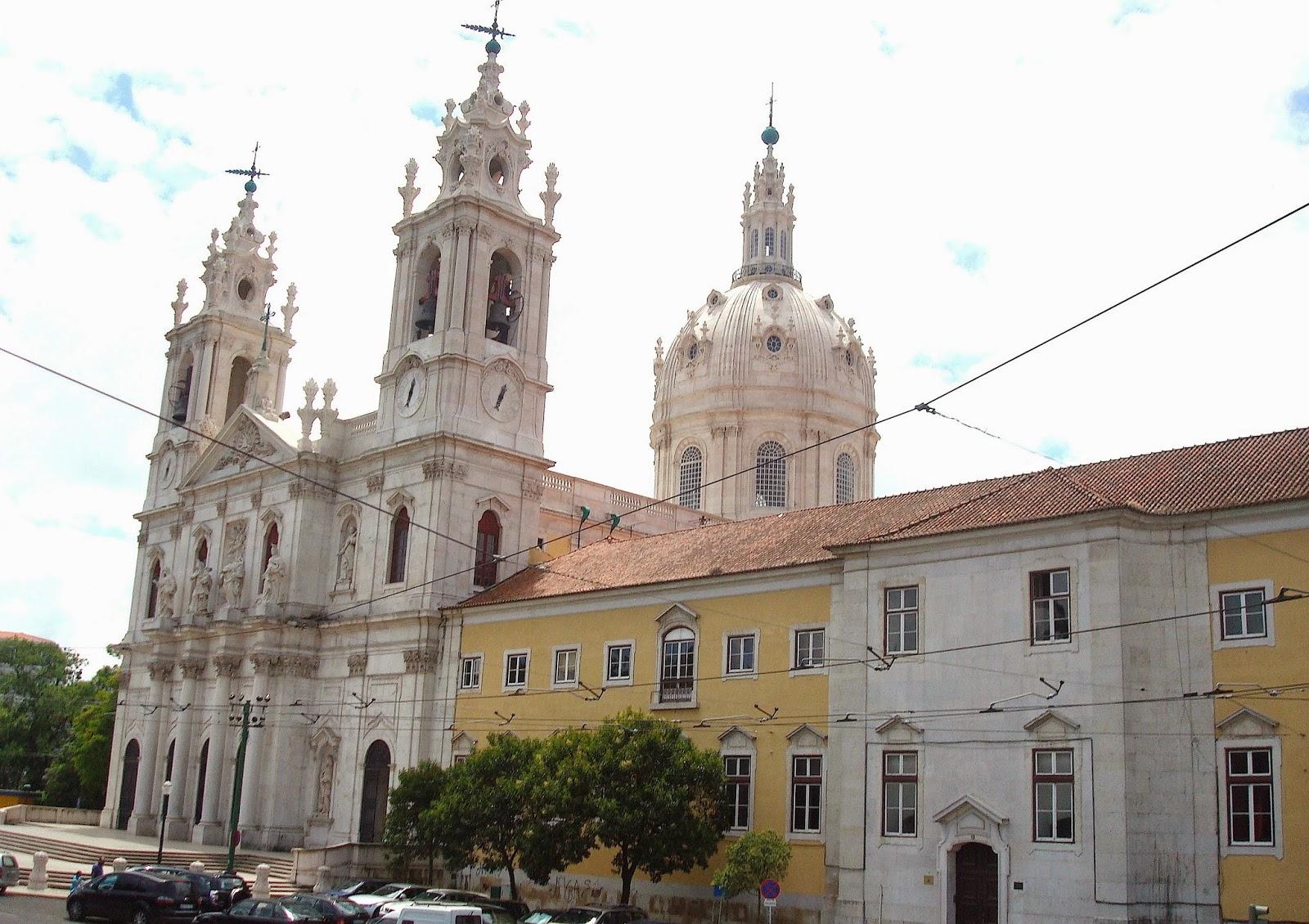 Estrela Basilica, Lisboa, Portugal