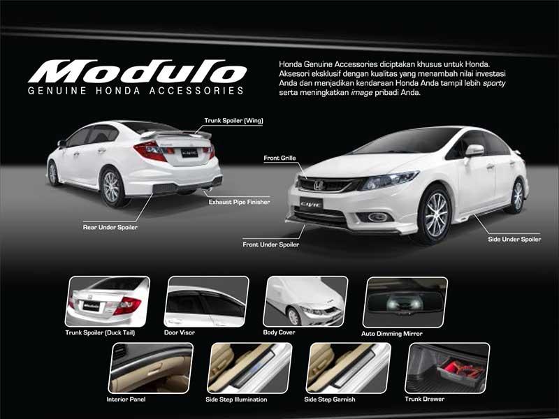 Aksesoris Honda Civic Bandung 2016