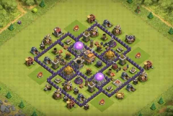 Base Clash Of Clans Town Hall 7 Terbaik 2017 - ANDROIDKUMA