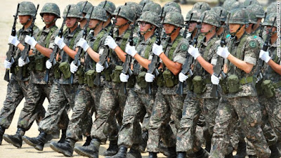 South Korea - Top 10 Largest Armies In The World