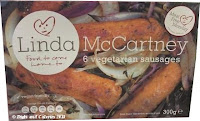 Linda McCartney vegetarian sausages