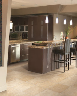Luxury vinyl is a beautiful and practical choice for any kitchen