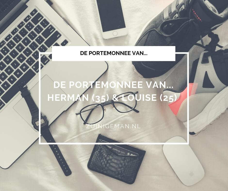 kasboek verhaal van Herman en Louise waar doen ze het van?