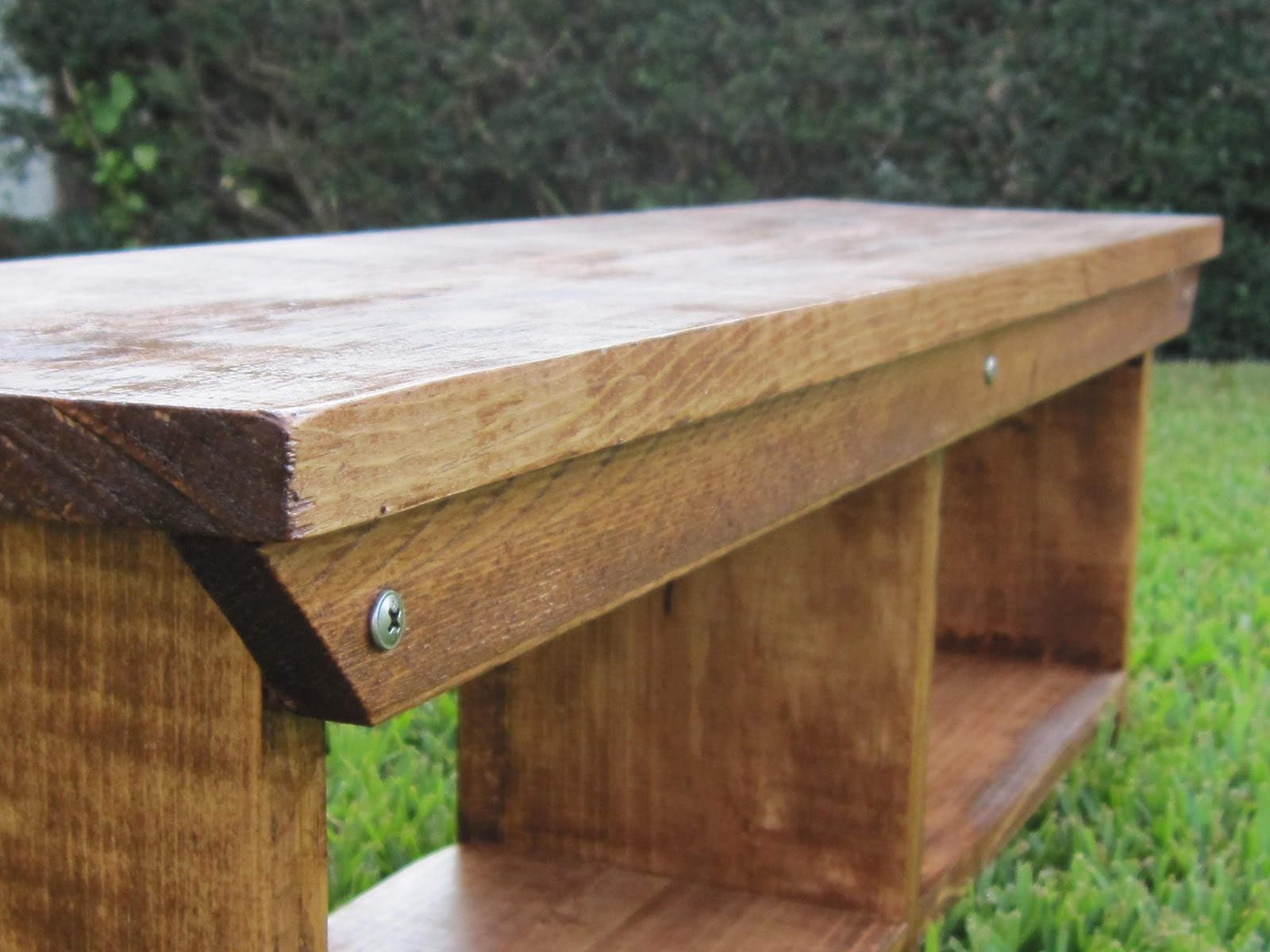 Breakfast For Dinner: Child - Farm Style Table With Storage Bench's Cottage Farm Table and Bench