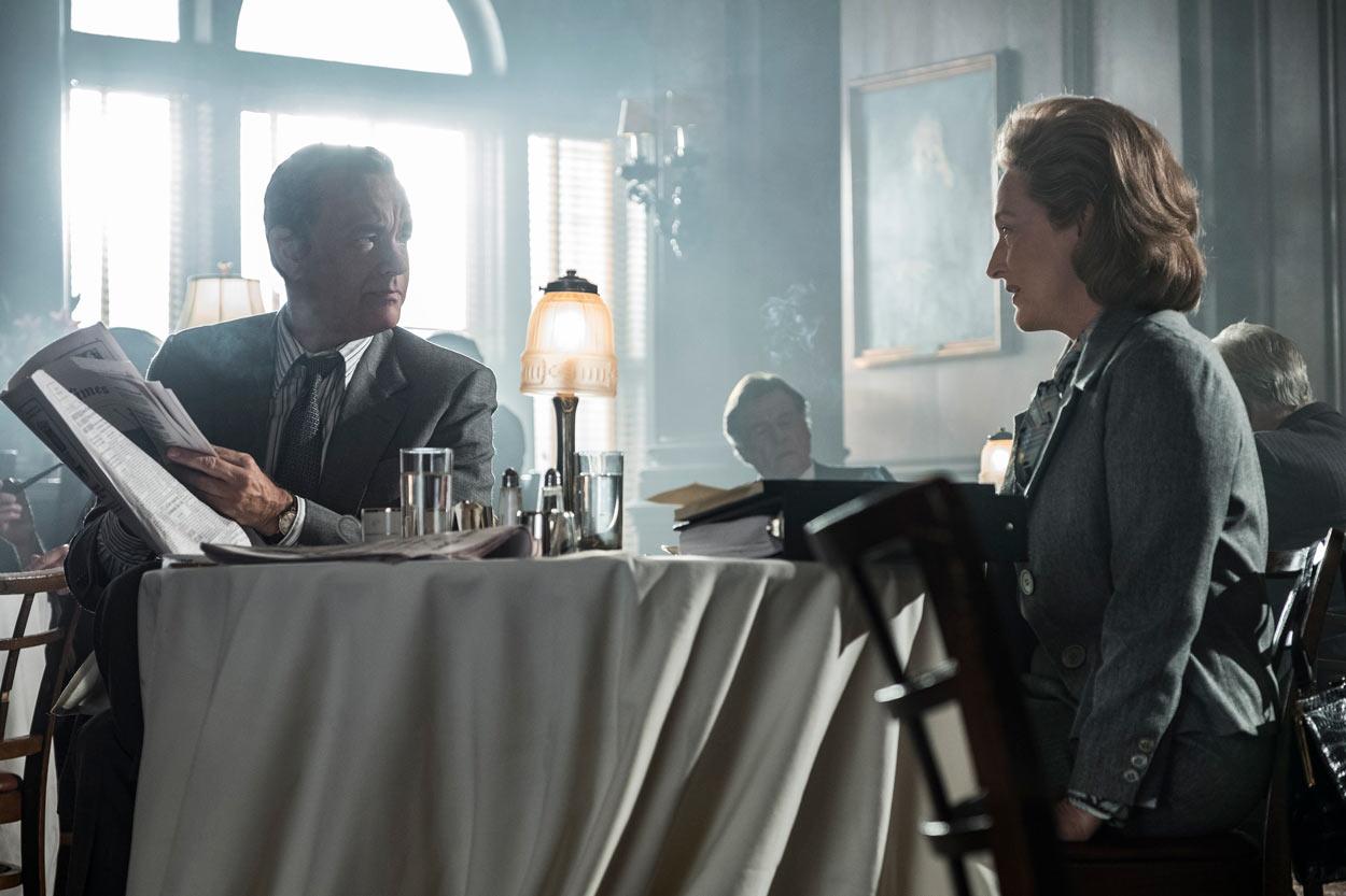LOS ARCHIVOS DEL PENTÁGONO - Meryl Streep y Tom Hanks