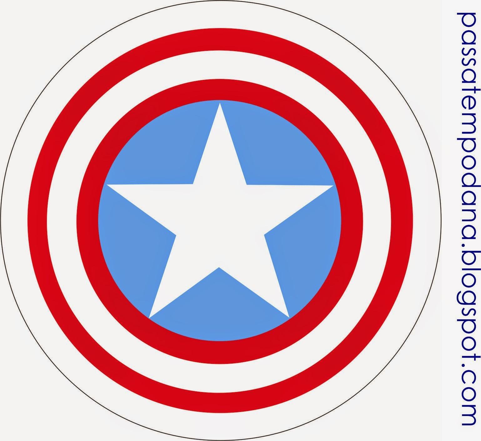 Toppers o Etiquetas de los Vengadores para Imprimir Gratis.