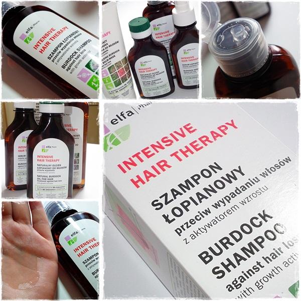 elfa pharm szampon łopianowy przeciw wypadaniu włosów z aktywatorem wzrostu