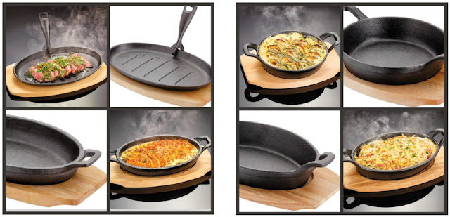 Sizzle and Serve Range of Cookware