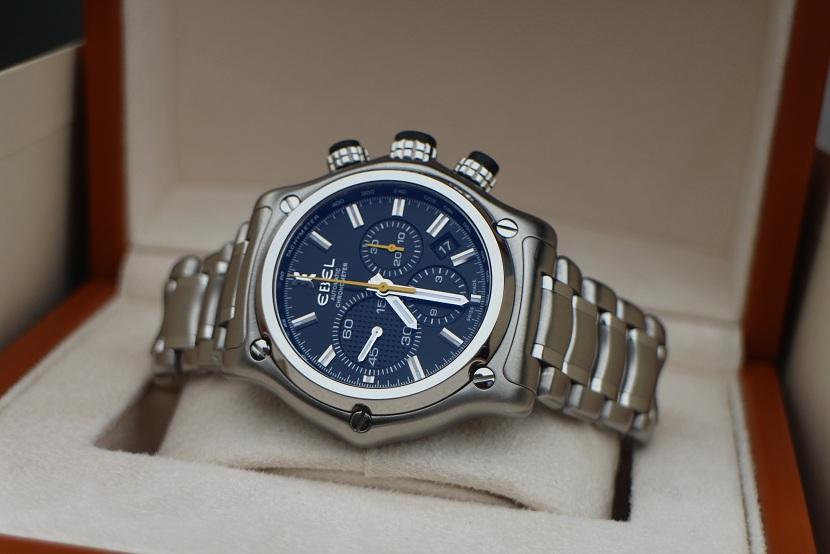 Jam tangan for sale  EBEL 1911 BTR Automatic Chronograph (SOLD) 30b3b37c3f