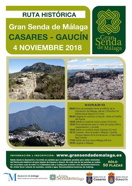 Ruta Senderista Histórica Casares - Gaucín