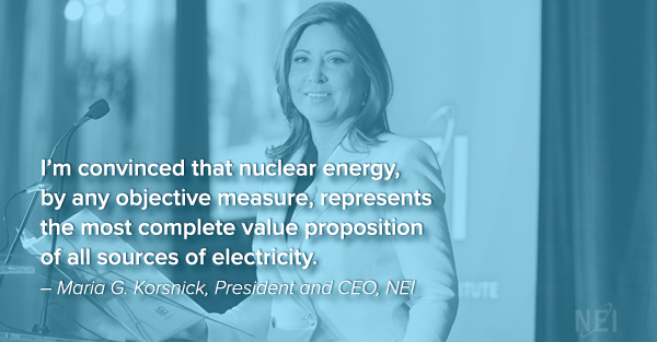 Maria Korsnick of Nuclear Energy Institute
