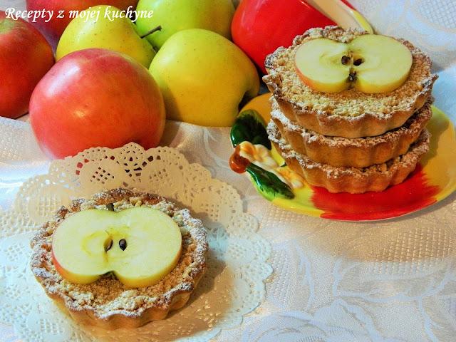 Jablkové tartaletky zo špaldovej múky