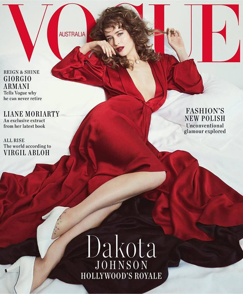 Dakota Johnson for Vogue Australia October 2018
