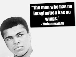 Koleksi kata bijak mutiara dari Muhammad Ali