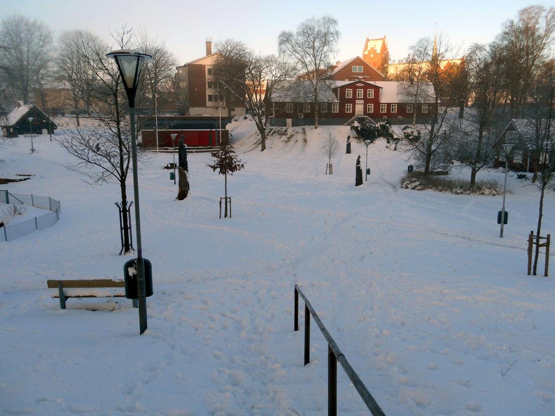 Parco cittadino a Hässleholm