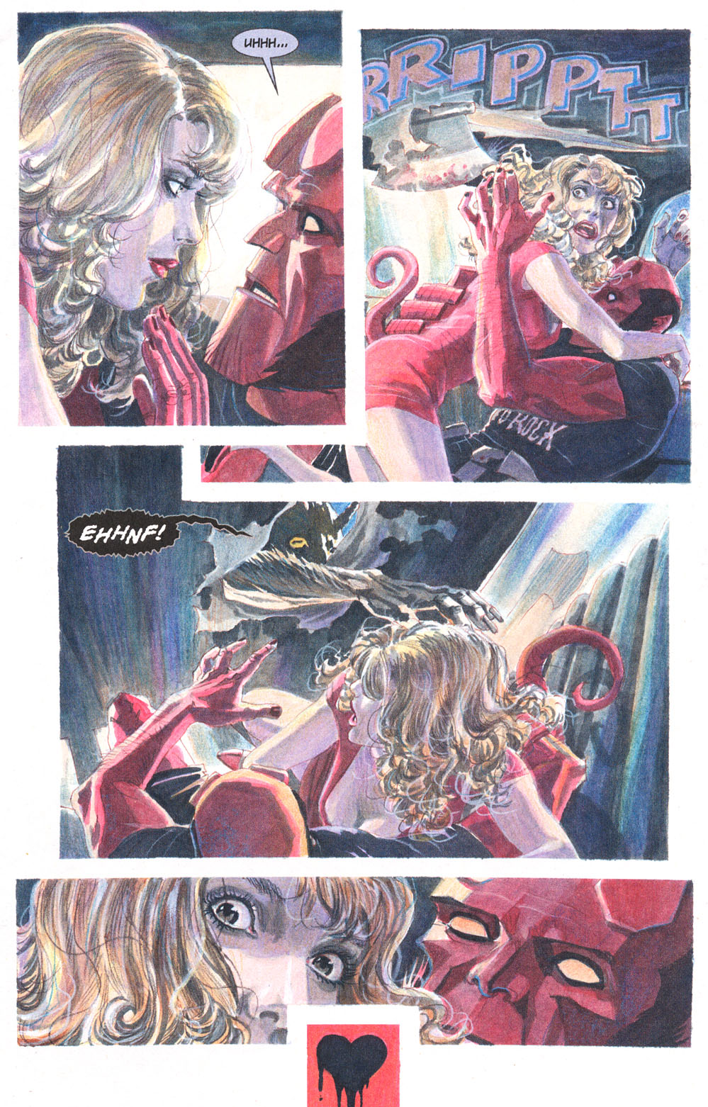 Read online Hellboy: Weird Tales comic -  Issue #5 - 7