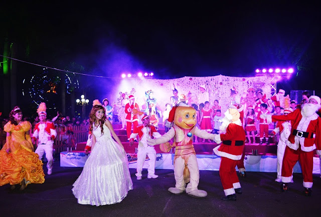 Serving tourist well on Christmas and New Year festival