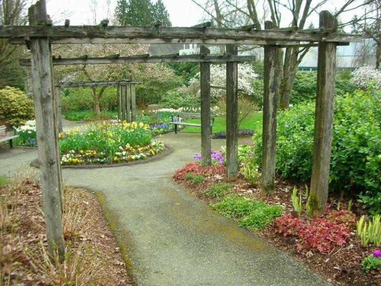 Ewa in the garden 12 ideas for garden arch trellis hand for Garden structures plans
