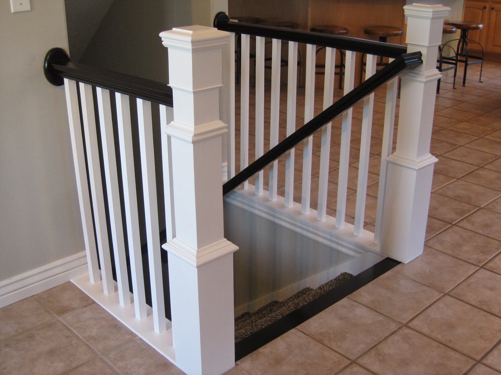 TDA decorating and design: Before & After DIY Stair ...