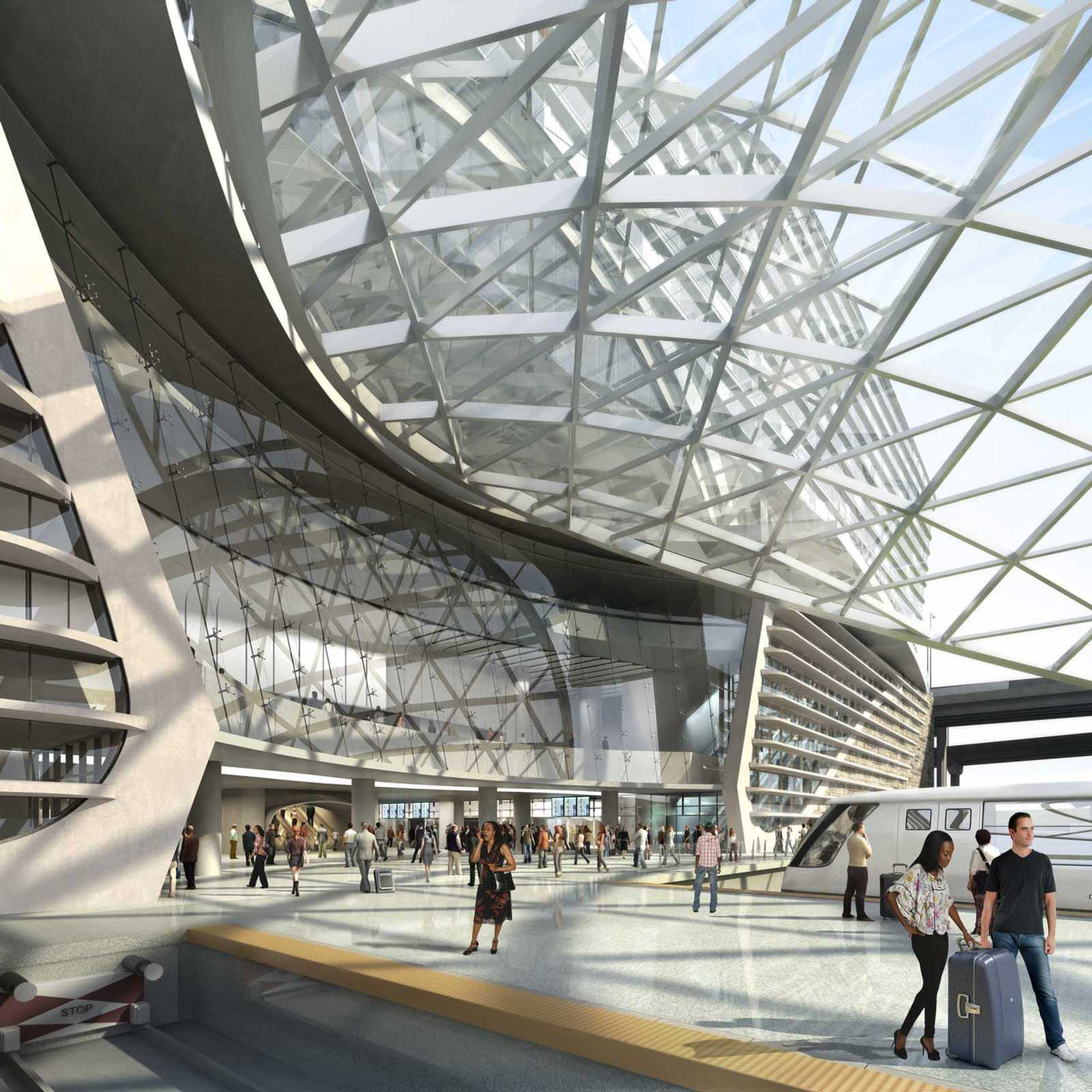 Denver International Airport By Gensler A As Architecture