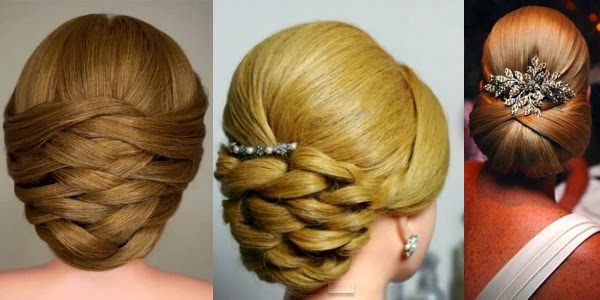 Sensational Weaving Bridal Updo Hair Tutorial Photos Amp Videos Short Hairstyles For Black Women Fulllsitofus