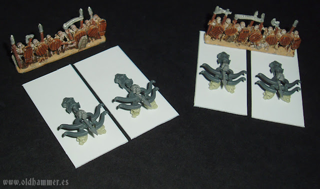 warmaster undead scratch bone thrower war machine undead conversion lanzahuesos no muertos lanzavirotes proxy 10mm