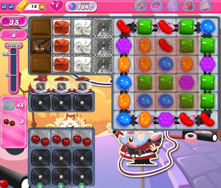 Candy Crush Saga 1847